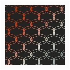 Cadenas Chinas Abstract Design Pattern Medium Glasses Cloth (2 Side) by Simbadda