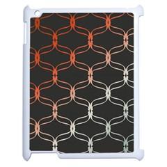 Cadenas Chinas Abstract Design Pattern Apple Ipad 2 Case (white) by Simbadda