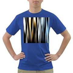 Digitally Created Striped Abstract Background Texture Dark T Shirt