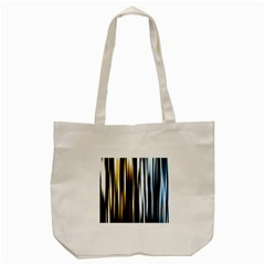 Digitally Created Striped Abstract Background Texture Tote Bag (cream) by Simbadda
