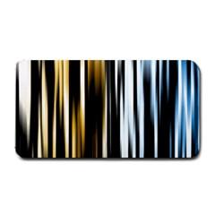 Digitally Created Striped Abstract Background Texture Medium Bar Mats by Simbadda