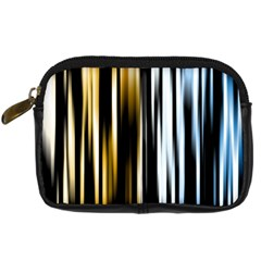 Digitally Created Striped Abstract Background Texture Digital Camera Cases by Simbadda