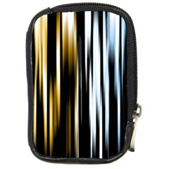Digitally Created Striped Abstract Background Texture Compact Camera Cases by Simbadda