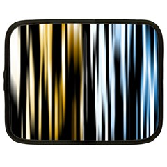 Digitally Created Striped Abstract Background Texture Netbook Case (xxl)