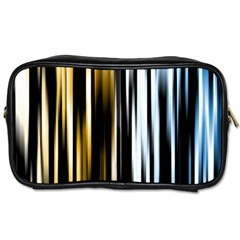 Digitally Created Striped Abstract Background Texture Toiletries Bags 2 Side by Simbadda