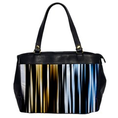 Digitally Created Striped Abstract Background Texture Office Handbags by Simbadda