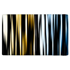 Digitally Created Striped Abstract Background Texture Apple Ipad 3/4 Flip Case by Simbadda