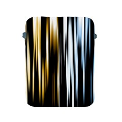 Digitally Created Striped Abstract Background Texture Apple Ipad 2/3/4 Protective Soft Cases by Simbadda