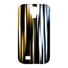 Digitally Created Striped Abstract Background Texture Samsung Galaxy S4 Classic Hardshell Case (pc+silicone) by Simbadda