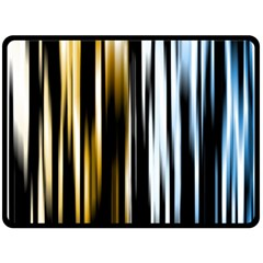 Digitally Created Striped Abstract Background Texture Double Sided Fleece Blanket (large)  by Simbadda