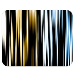 Digitally Created Striped Abstract Background Texture Double Sided Flano Blanket (medium)  by Simbadda