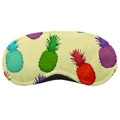 Colorful Pineapples Wallpaper Background Sleeping Masks by Simbadda