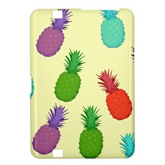 Colorful Pineapples Wallpaper Background Kindle Fire Hd 8 9  by Simbadda