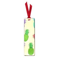 Colorful Pineapples Wallpaper Background Small Book Marks by Simbadda