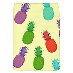 Colorful Pineapples Wallpaper Background Flap Covers (s)  by Simbadda