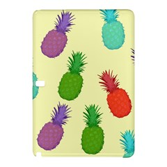 Colorful Pineapples Wallpaper Background Samsung Galaxy Tab Pro 10 1 Hardshell Case by Simbadda