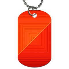 Abstract Clutter Baffled Field Dog Tag (one Side) by Simbadda