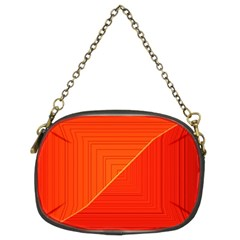 Abstract Clutter Baffled Field Chain Purses (two Sides)  by Simbadda