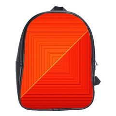 Abstract Clutter Baffled Field School Bags (xl)  by Simbadda