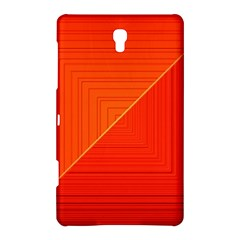 Abstract Clutter Baffled Field Samsung Galaxy Tab S (8 4 ) Hardshell Case