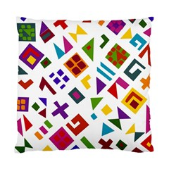 A Colorful Modern Illustration For Lovers Standard Cushion Case (two Sides) by Simbadda