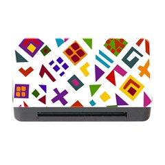 A Colorful Modern Illustration For Lovers Memory Card Reader With Cf by Simbadda
