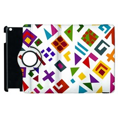A Colorful Modern Illustration For Lovers Apple Ipad 2 Flip 360 Case by Simbadda