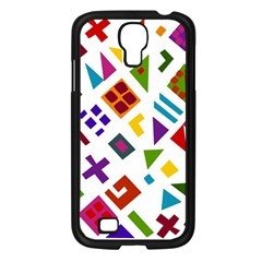 A Colorful Modern Illustration For Lovers Samsung Galaxy S4 I9500/ I9505 Case (black) by Simbadda