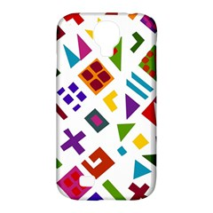 A Colorful Modern Illustration For Lovers Samsung Galaxy S4 Classic Hardshell Case (pc+silicone) by Simbadda