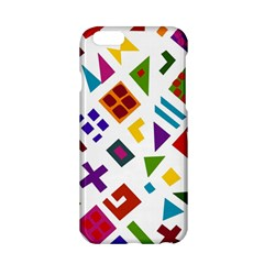 A Colorful Modern Illustration For Lovers Apple Iphone 6/6s Hardshell Case by Simbadda