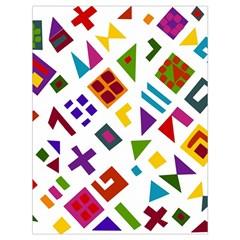 A Colorful Modern Illustration For Lovers Drawstring Bag (large) by Simbadda