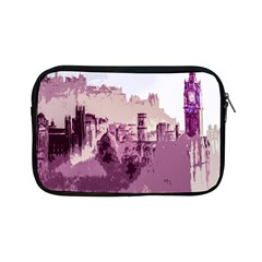 Abstract Painting Edinburgh Capital Of Scotland Apple Ipad Mini Zipper Cases by Simbadda