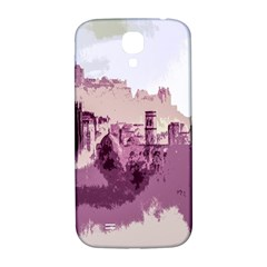 Abstract Painting Edinburgh Capital Of Scotland Samsung Galaxy S4 I9500/i9505  Hardshell Back Case by Simbadda