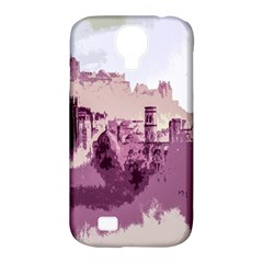 Abstract Painting Edinburgh Capital Of Scotland Samsung Galaxy S4 Classic Hardshell Case (pc+silicone) by Simbadda