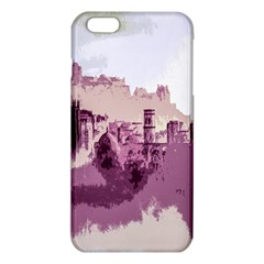 Abstract Painting Edinburgh Capital Of Scotland Iphone 6 Plus/6s Plus Tpu Case by Simbadda