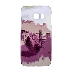 Abstract Painting Edinburgh Capital Of Scotland Galaxy S6 Edge by Simbadda