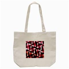Red And Pink Abstract Background Tote Bag (cream) by Simbadda