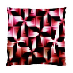 Red And Pink Abstract Background Standard Cushion Case (one Side) by Simbadda