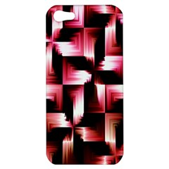 Red And Pink Abstract Background Apple iPhone 5 Hardshell Case