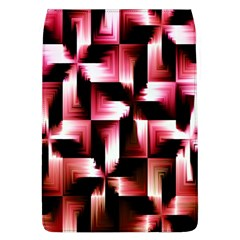 Red And Pink Abstract Background Flap Covers (l)  by Simbadda