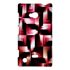 Red And Pink Abstract Background Nokia Lumia 720 by Simbadda