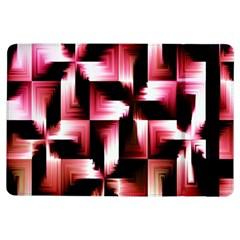 Red And Pink Abstract Background Ipad Air Flip by Simbadda