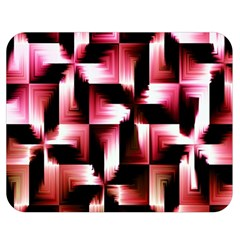 Red And Pink Abstract Background Double Sided Flano Blanket (medium)  by Simbadda