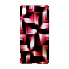 Red And Pink Abstract Background Sony Xperia Z3+ by Simbadda