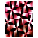 Red And Pink Abstract Background Drawstring Bag (Large) Back