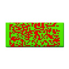 Colorful Qr Code Digital Computer Graphic Cosmetic Storage Cases