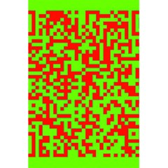 Colorful Qr Code Digital Computer Graphic 5 5  X 8 5  Notebooks by Simbadda