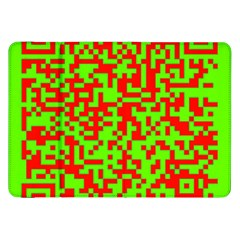 Colorful Qr Code Digital Computer Graphic Samsung Galaxy Tab 8 9  P7300 Flip Case by Simbadda