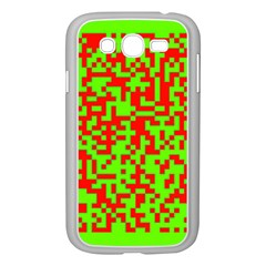 Colorful Qr Code Digital Computer Graphic Samsung Galaxy Grand Duos I9082 Case (white)