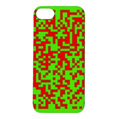 Colorful Qr Code Digital Computer Graphic Apple Iphone 5s/ Se Hardshell Case by Simbadda